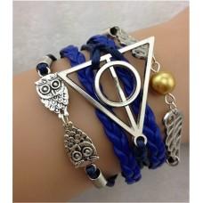 Harry Potter karkötő kék-ezüst