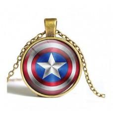 Bosszúállók - Amerika kapitány nyaklánc Marvel