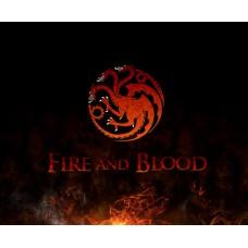 Game of Thrones - Trónok Harca - Targaryen ház nyaklánc